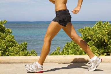 fast walking stress exercise